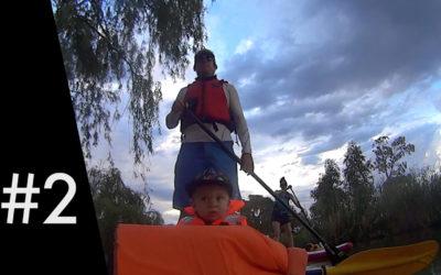 Video: We had a mini picnic on a river island